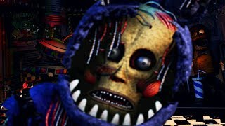 THERE IS A HUMAN INSIDE OF THIS ANIMATRONIC.. HE WANTS REVENGE! | FNAF Ultimate Custom Night Mod