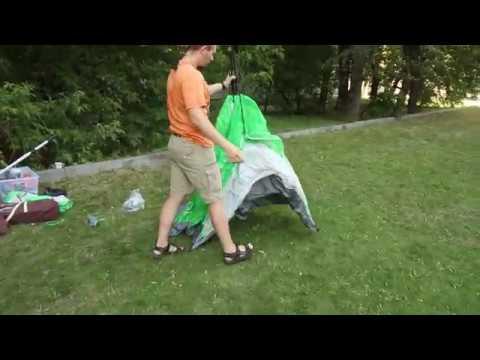 Палатка Greenell «Коул 2». Видеообзор.