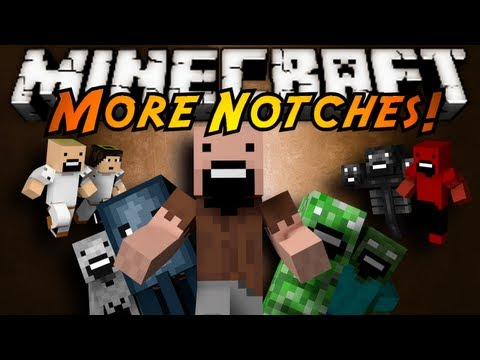 mod - DOZENS OF NEW NOTCH MOBS! NEW DIMENSIONS, BOSS MOBS, WEAPONS AND MORE! EVEN A SQUID NOTCH WHICH YOU CAN HAVE BUTTER NOTCHES SLAY! Husky's Channel http://www....