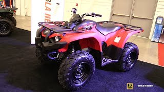 7. 2019 Yamaha Kodiak 450 Recreational ATV - Walkaround - 2018 Drummondville ATV Show