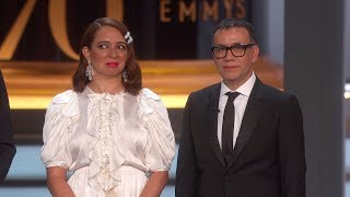 70th Emmy Awards: Facts from Maya Rudolph and Fred Armisen