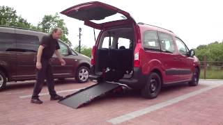 Snížení podlahy + nájezdová rampa 001 ve voze CITROËN Berlingo