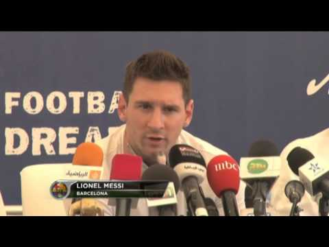 Lionel Messi on Neymar, Real Madrid & Jose Mourinho (видео)