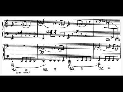 Arno Babadjanian - Humoresque (audio + sheet music) онлайн видео