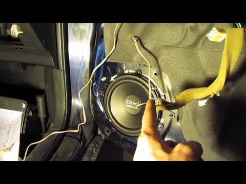 Pontiac Vibe Speaker and Radio Upgrade, tips and ideas
