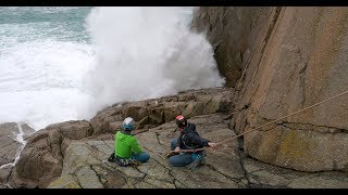 Sea-cliff climbing essentials 2: Conditions and decision making by teamBMC