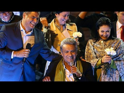 Νικητής στις εκλογές του Ισημερινού ο αριστερός Μορένο