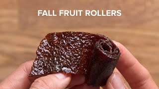 Fall Flavored Fruit Rollers by Tasty