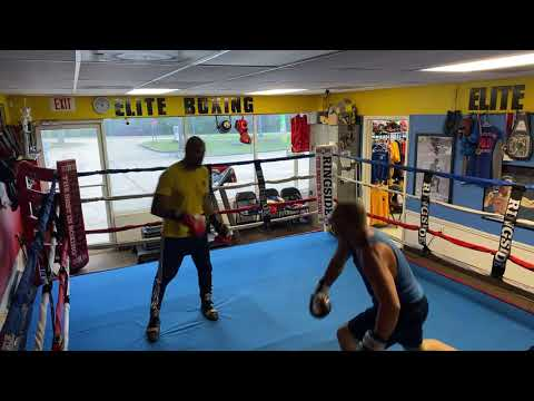 When a bully challenges the coach of a boxing gym