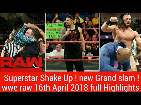 WWE Superstar Shake up ! wwe raw 16th April 2018 Hindi Highlights 4/16/18