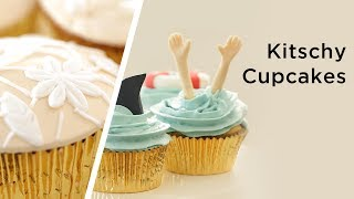 6 kitschy cupcakes for cupcake lovers that are easy to bake and delicious!___RECIPES HERE: http://bit.ly/2hpvTm0Kin Community is a participant in the Amazon Services LLC Associates Program, an affiliate advertising program designed to provide a means for sites to earn advertising fees by advertising and linking to amazon.com. Help support Kin Community by shopping these products with no additional fee!___CONNECT WITH KIN COMMUNITYSubscribe here: http://bit.ly/MKYoureInvitedFacebook: https://www.facebook.com/KinCommunityPinterest: https://www.pinterest.com/kincommunityTwitter: https://twitter.com/kincommunityInstagram: https://instagram.com/kincommunitySnapchat: http://bit.ly/AddKinYour source for new skills, new stuff, and new perspectives related to the most important place in the world, Home. Make your way home with Kin Community.