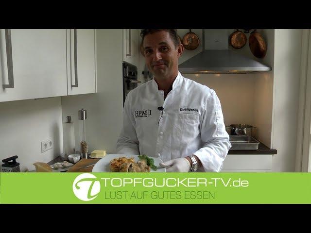 Mit Büffelmozzarella gefüllte Roulade vom Stubenküken | Rezepte Empfehlung Topfgucker-TV