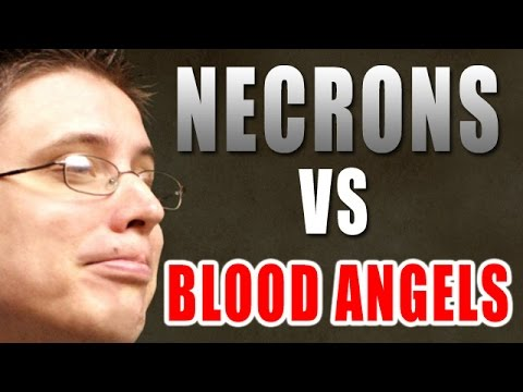 Necrons vs Blood Angels Warhammer 40k Battle Report - Beat Matt Batrep Ep 107 видео