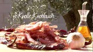 Spanische Knoblauch Garnelen