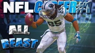 Madden NFL 15 Career - CAM NEWTON IS A BEAST / NEW Wide Receiver Creation