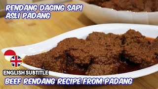 Video RENDANG DAGING SAPI ASLI PADANG MP3, 3GP, MP4, WEBM, AVI, FLV Mei 2019