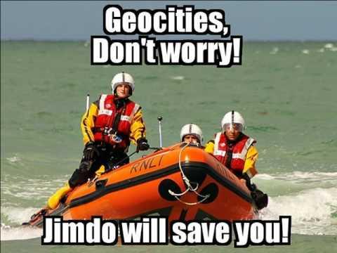 GeoCities servicio gratuito de creación de sitios Web va a cerrar el 26 de octubre del 2009.