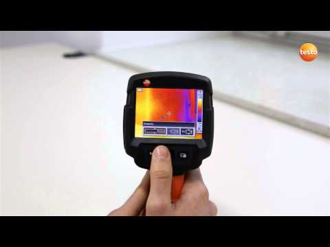 testo 870 - Step 06 - Setting the Emissivity