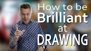 Before you organise a drawing lesson or workshop show your students this video to motivate them. In this motivational art video I explain how you can be brilliant at drawing. It is just a matter of believing in yourself and having the confidence to draw in the way you want to draw. I also show how the pursuit of perfection, which some young people seem to do in their drawing is not possible. I explain that the role of an artist is not to try to create a photographic drawing but a unique one .  I show that using rulers to draw straight lines robs the drawing of individuality and many artists especially Matisse do not rub out lines from the under drawing.Belief in your own work is the only way to successCheck out my other sites:http://art-tutorialsonline.comhttps://artistinschool.com