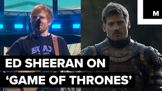 Game of Thrones executive producers announced singer Ed Sheeran will make a guest appearance in the upcoming season of the HBO hit show. READ MORE: http://ma...