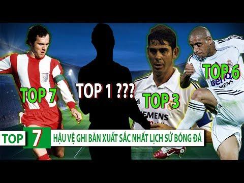 Top 7 hậu vệ ghi bàn xuất sắc nhất lịch sử bóng đá | Bất ngờ với vị trí top 1 - Thời lượng: 7 phút, 16 giây.