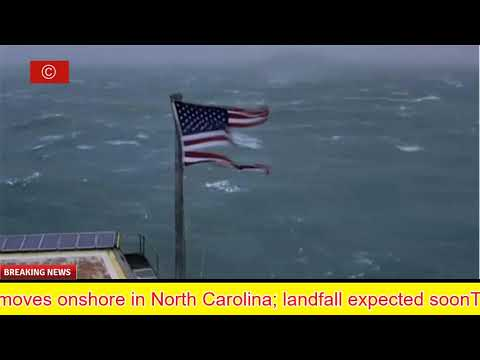 Hurricane Florence live video: Webcam from Frying Pan Tower off North Carolina coast