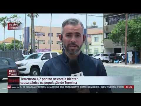 Terremoto de 4.7 Causa Panico no Maranhão e Piauí. 03/01/2017
