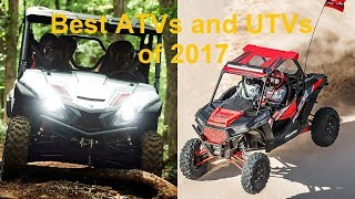 7. Best ATVs UTVs of 2017