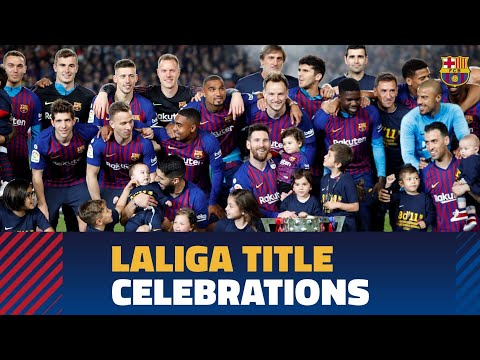 Barça celebrates the 2018/19 LaLiga title at Camp Nou - Thời lượng: 37:52.