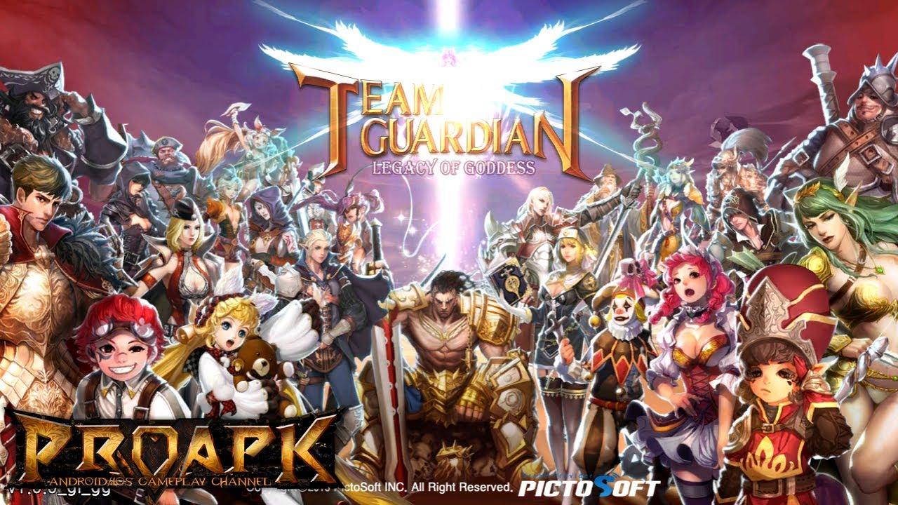 Team Guardian : legend of 23 heroes