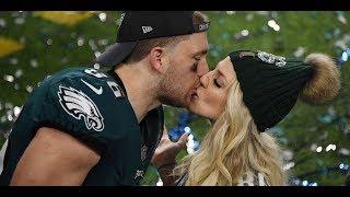 See Julie and Zach Ertzs Super Bowl celebration