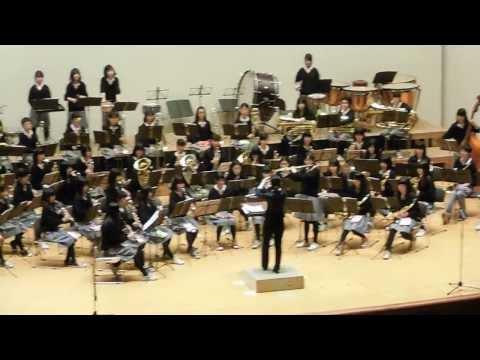 枚方市合同演奏会 第四中学校「管弦楽のためのラプソディ」