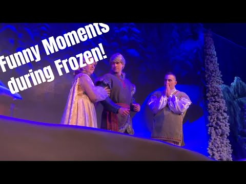 What happens when your cell phone goes off during the Frozen Sing Along at DHS?