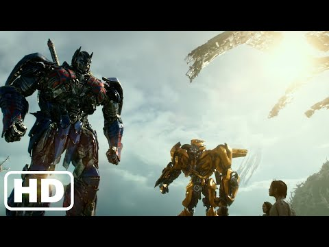 Transformers 5 The Last Knight Final Battle Autobots vs Decepticons & Quintessa - Best Scene