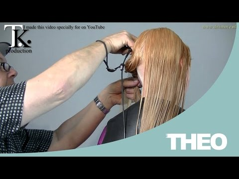 Shave my nape! Cut my hair and make it BLONDE again!!!! Laura by T K (видео)
