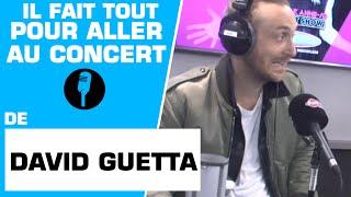 David Guetta convainc une mère d'aller à son concert avec son fils ! - Marion et Anne-So
