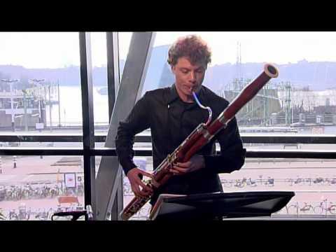 Bram van Sambeek - J.S. Bach/ Uit: Partita voor fluit  Sarabande