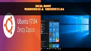 Hi everyone,Like always, when the latest version of ubuntu released I do a dual boot with the latest windows version available (windows 10 dah :p) .So in this tutorial , I am going to show how to dual boot Ubuntu 17.04  the latest version of this beautiful linux distro and windows 10 using the UEFI method. Enjoy !-----------------------------------------------------------------------------------------------------------Download Link : https://goo.gl/XtWrh0-----------------------------------------------------------------------------------------------------------Paypal Donation(1 dollar or less can be nothing for you but it will certainly help to get new equipment and continue working, so please if you feel that I deserve it don't hesitate and donate and let us grow together )-----------------------------------------------------------------------------------------------------------Recording software for free Download link : https://goo.gl/Yoqpeu-----------------------------------------------------------------------------------------------------------Facebook : https://www.facebook.com/pr0t3ch/Twitter:https://twitter.com/g33kyworldWebsite :http://www.t3chpro.com/-----------------------------------------------------------------------------------------------------------DUAL BOOT UBUNTU AND WINDOWSDUAL BOOT UBUNTU 17.04 AND WINDOWS 10DUAL BOOTINGPCUEFI