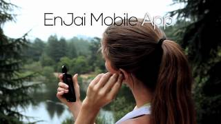 """Video Introducing EnJai: First Ever """"Patented"""" Wireless, Waterproof, Earbuds for Smartphones MP3, 3GP, MP4, WEBM, AVI, FLV Juli 2018"""