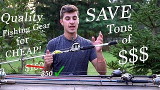 Video How to get EXPENSIVE Fishing Gear for CHEAP! MP3, 3GP, MP4, WEBM, AVI, FLV Mei 2019