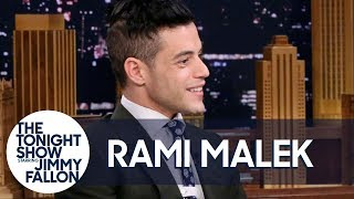 Rami Malek chats with Jimmy about getting recognized on the subway for Mr. Robot and the time he covered up a catering job mistake by scooping food up off a hospital floor.Subscribe NOW to The Tonight Show Starring Jimmy Fallon: http://bit.ly/1nwT1aNWatch The Tonight Show Starring Jimmy Fallon Weeknights 11:35/10:35cGet more Jimmy Fallon: Follow Jimmy: http://Twitter.com/JimmyFallonLike Jimmy: https://Facebook.com/JimmyFallonGet more The Tonight Show Starring Jimmy Fallon: Follow The Tonight Show: http://Twitter.com/FallonTonightLike The Tonight Show: https://Facebook.com/FallonTonightThe Tonight Show Tumblr: http://fallontonight.tumblr.com/Get more NBC: NBC YouTube: http://bit.ly/1dM1qBHLike NBC: http://Facebook.com/NBCFollow NBC: http://Twitter.com/NBCNBC Tumblr: http://nbctv.tumblr.com/NBC Google+: https://plus.google.com/+NBC/postsThe Tonight Show Starring Jimmy Fallon features hilarious highlights from the show including: comedy sketches, music parodies, celebrity interviews, ridiculous games, and, of course, Jimmy's Thank You Notes and hashtags! You'll also find behind the scenes videos and other great web exclusives.Rami Malek Served Doctors Lasagna off a Hospital Floorhttp://www.youtube.com/fallontonight