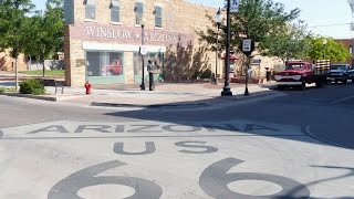 Winslow, Arizona, Standing on the Corner, Eagles, Route 66