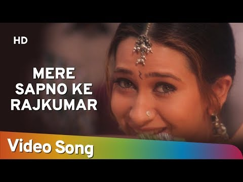 Video Mere Sapno Ke Rajkumar - Jaanwar Songs - Akshay Kumar - Karisma Kapoor - Alka Yagnik - Gold songs download in MP3, 3GP, MP4, WEBM, AVI, FLV January 2017