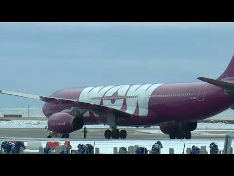 Islands Fluggesellschaft Wow Air stellt den Betrieb ein