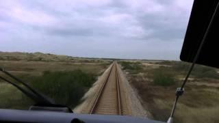 Train CAB Ride Aalbaek - Skagen S In HD.mp4