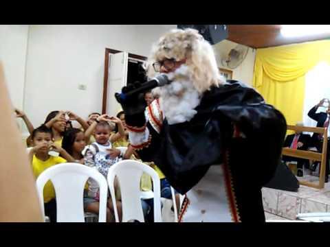 Preletor da festa das crianças, em Mucurici .Pb Paulo no personagem de Jacó vindo de Jerusalém!