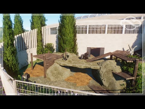 🦓 Planet zoo | Brookhaven Zoo | EP 10 | Speed Build |  Gorilla Habitat
