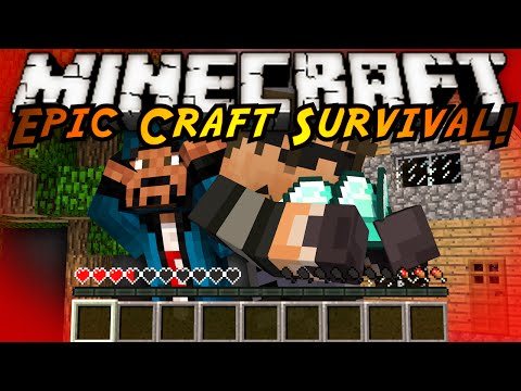 Minecraft Modded EPIC CRAFT : THE ROAD TO DIAMONDS!
