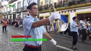 Sanjoaninas 2017 - Desfile de Charangas -  Bombeiros da Praia da Vitoria -  28 de Junho