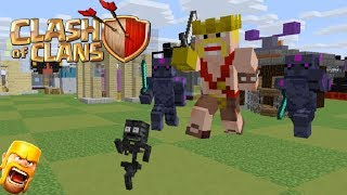Video Monster School : Clash Of Clans Fight -Minecraft Animation MP3, 3GP, MP4, WEBM, AVI, FLV Februari 2018